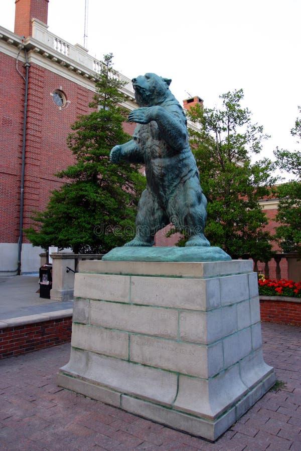 Brown University Ivy League College Campus situata nella provvidenza, Rhode Island immagini stock libere da diritti