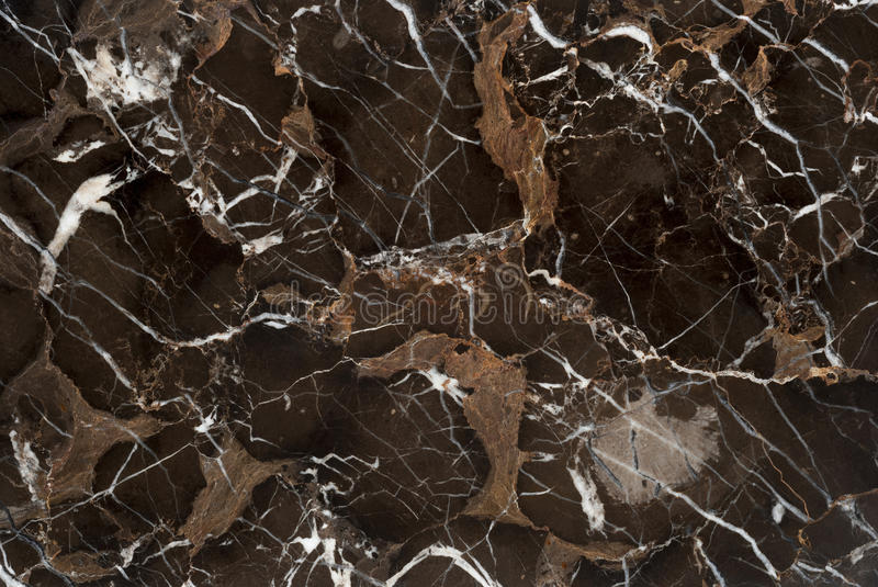 Brown Vein Marble Stone stock image