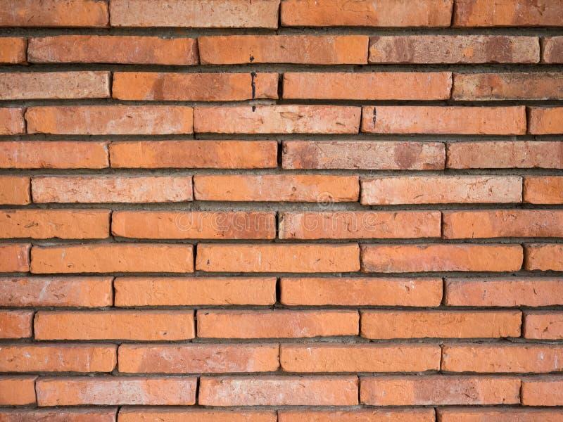 Brown vintage brick wall texture royalty free stock image