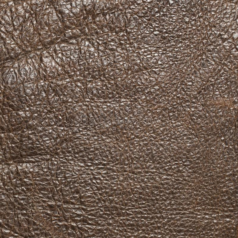 Vintage leather texture. Brown vintage leather texture as background royalty free stock images