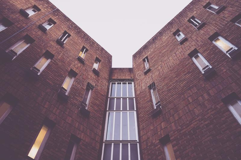 Brown Walled High Rise Building Free Public Domain Cc0 Image