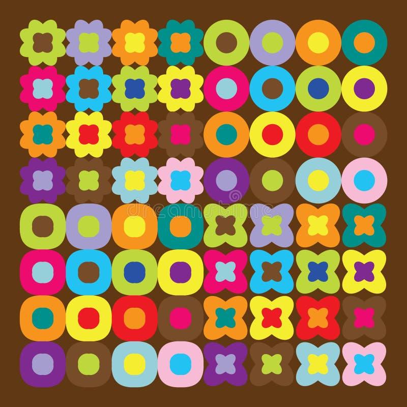 Brown wallpappers vektor abbildung