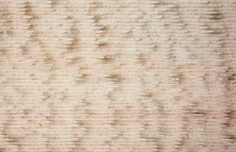 Brown wapień z horyzontalnych linii tekstury powierzchnią royalty ilustracja
