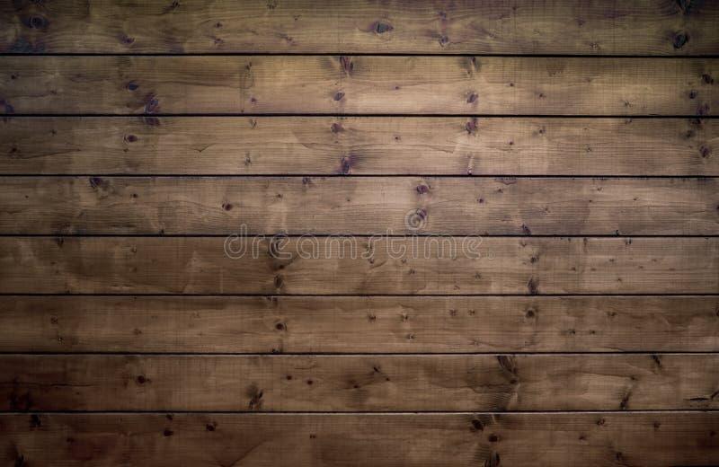 Brown-Weinlese-hölzerne Hintergrund-Beschaffenheits-Nahaufnahme mit Vignette stockfotografie