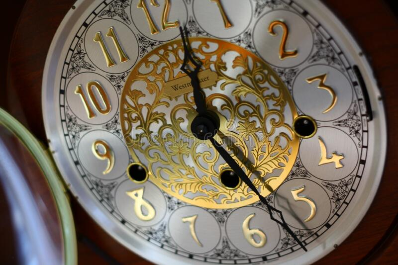 Brown And White Clock 12 30 Free Public Domain Cc0 Image