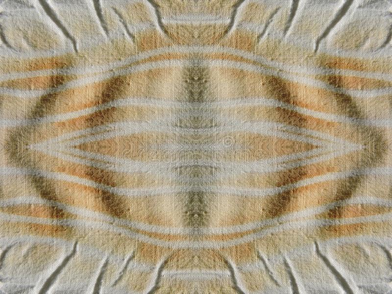 Brown and white colors fabric texture stock photo