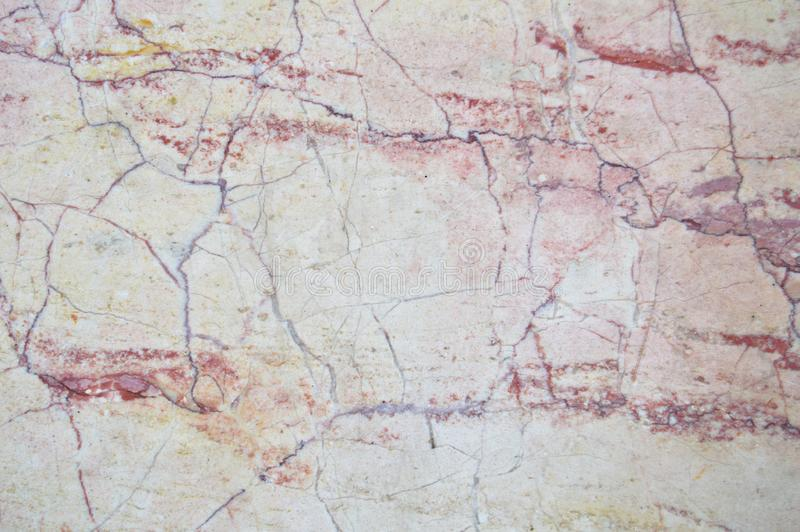 Brown white and red marble texture. Abstract background texture of brown white and red marble pattern royalty free stock images