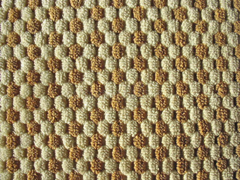 Download Brown And White Relief Plush Fabric Texture Stock Photo - Image: 22826926