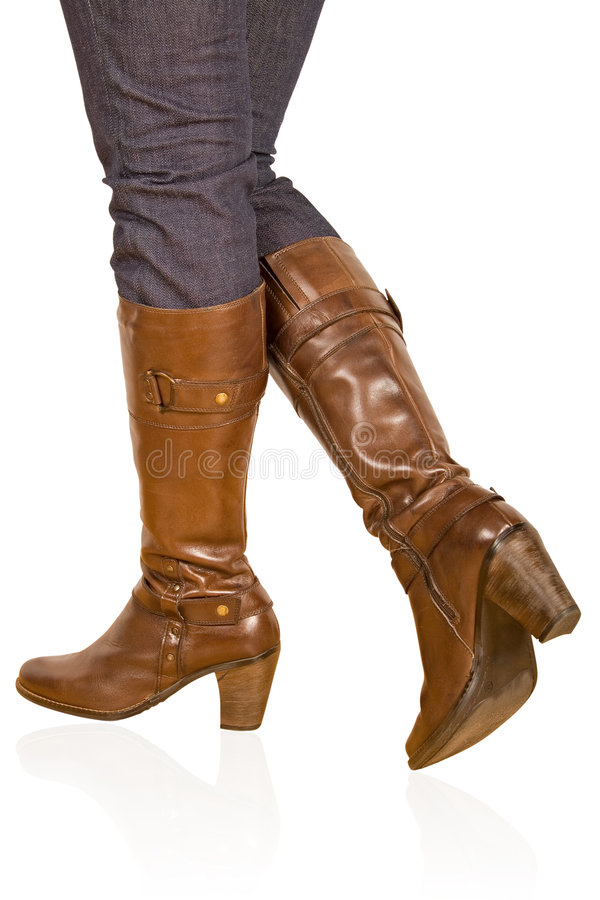Free Brown Woman S Boot Stock Photos - 7221413