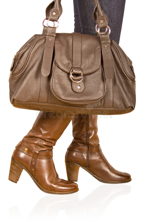 Free Brown Woman S Boot Royalty Free Stock Photos - 7221418
