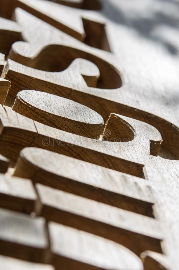 Brown, Wood, Font, Product Design stock photo