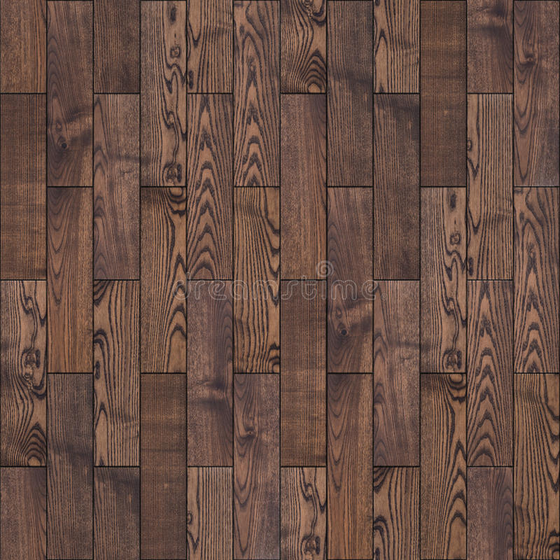 Brown Wood Parquet Floor Seamless Texture Royalty Free