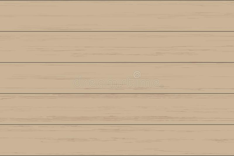 Brown wood plank texture for background. Vector. Illustration stock illustration
