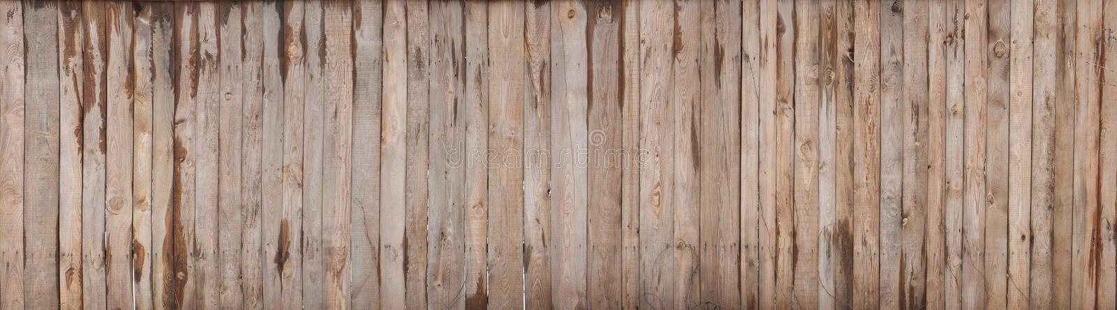 Brown wood colored plank wall texture background stock photography