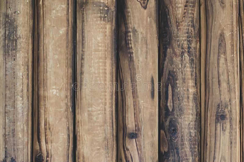 Brown wood texture background. Vintage, abstract, empty template stock photography
