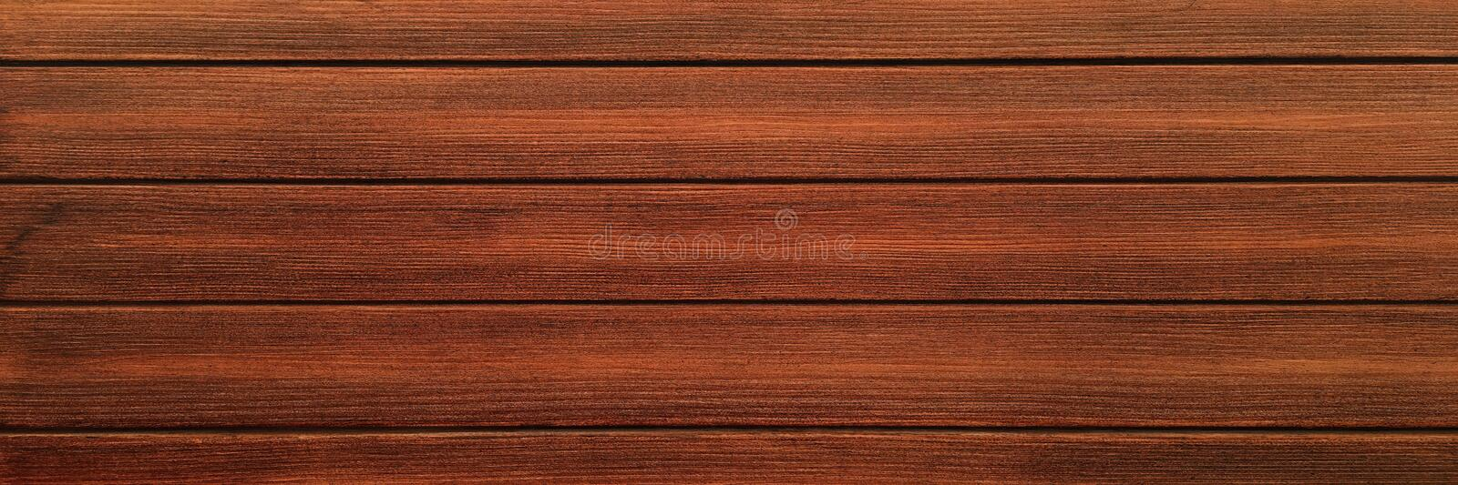 Brown wood texture, dark wooden abstract background stock images