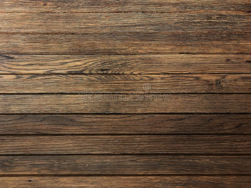 Brown wood texture, dark wooden abstract background royalty free stock photography
