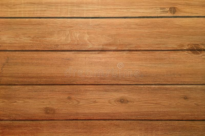 Brown wood texture, dark wooden background royalty free stock photos