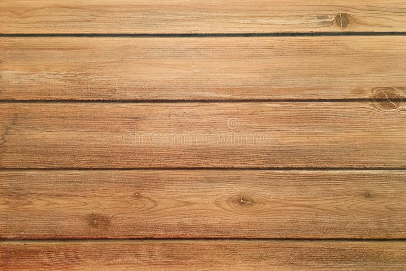 Brown wood texture, dark wooden background stock image