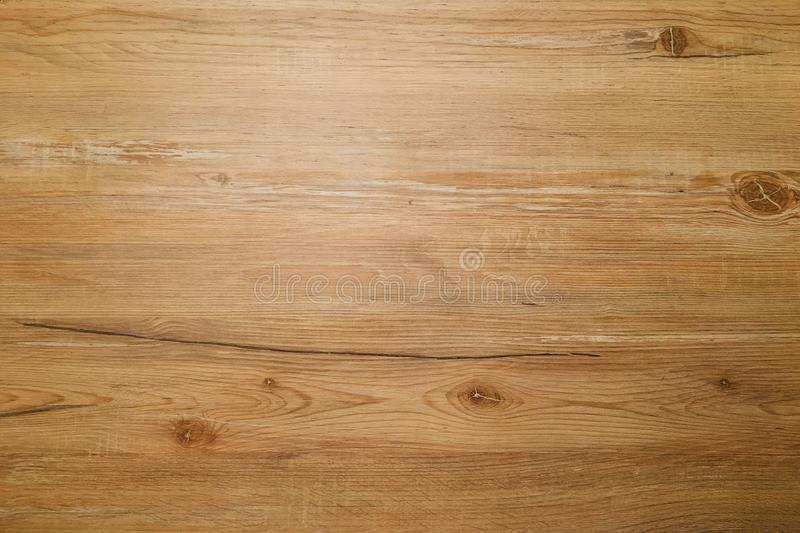 Brown wood texture, light wooden abstract background stock photo