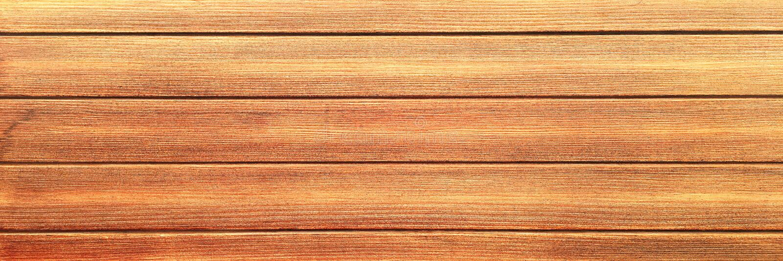 Brown wood texture, light wooden abstract background royalty free stock photography