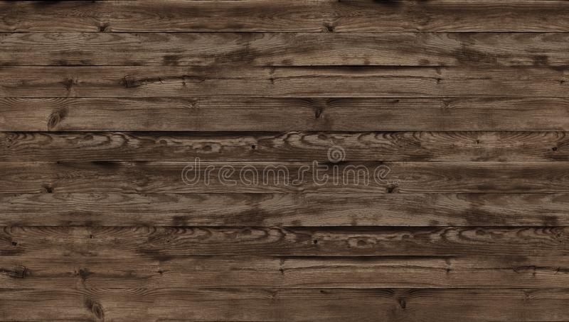 Brown wood texture, top view of wooden table. Dark wall background, texture old top table, grunge background, seamless stock images