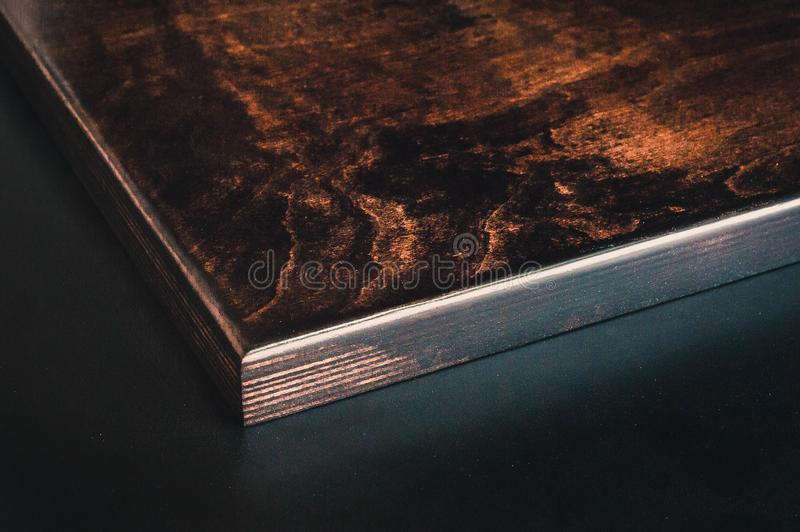 Brown Wooden Board royalty free stock photo
