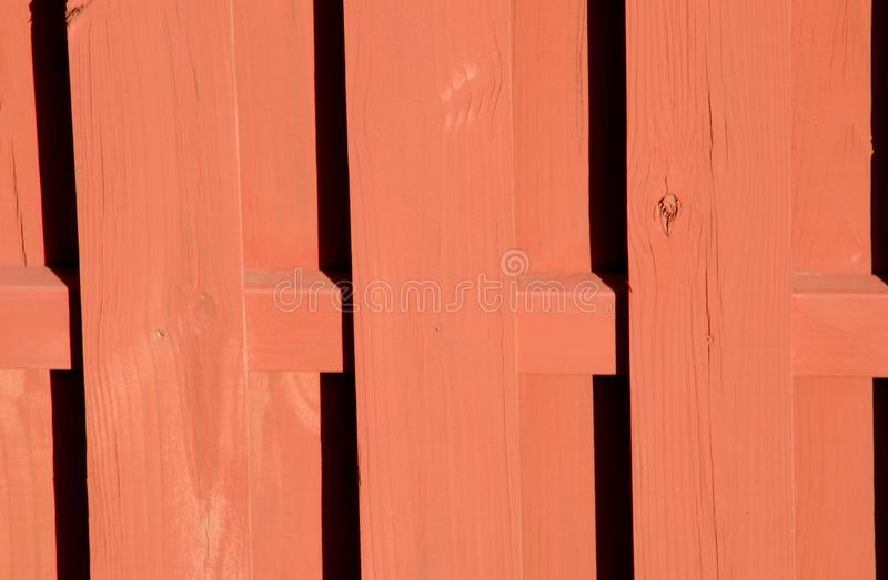 Brown wooden fence. Made up with plank stock image