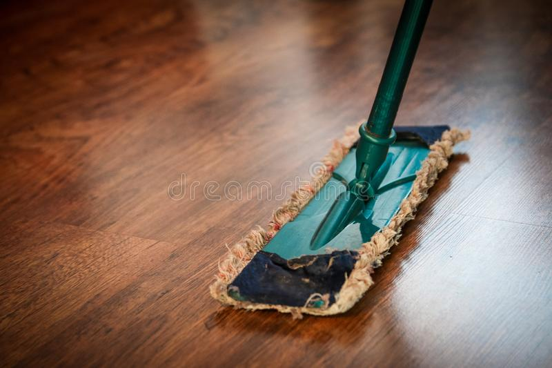 Brown Wooden Floor royalty free stock photo