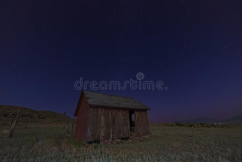 Brown Wooden Hut On Green Grass Lawn During Night Time Free Public Domain Cc0 Image