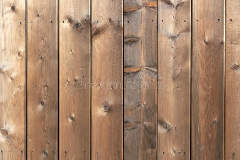 Brown Wooden panel background royalty free stock photography