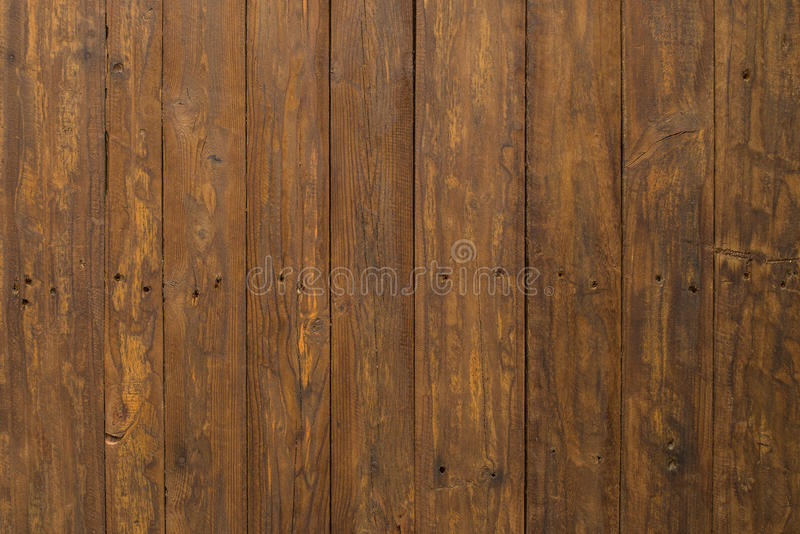 Brown wooden panel stock image