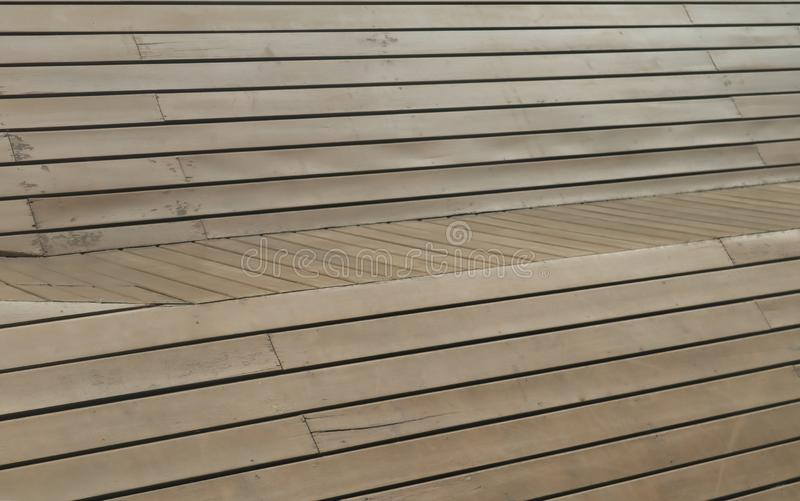 Brown wooden panel use as background or wallpaper royalty free stock photo