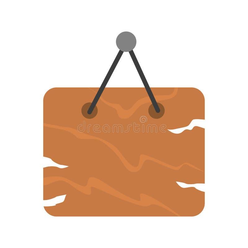 Download Brown Wooden Signboard Vector. Stock Vector - Image: 83724276