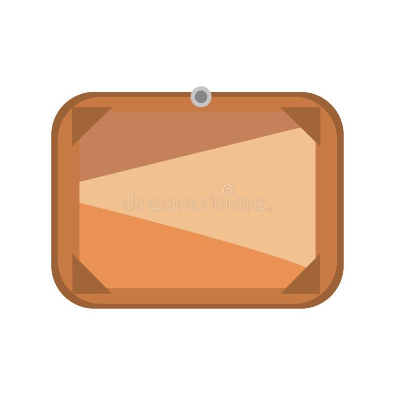 Download Brown Wooden Signboard Vector. Stock Vector - Image: 83724298