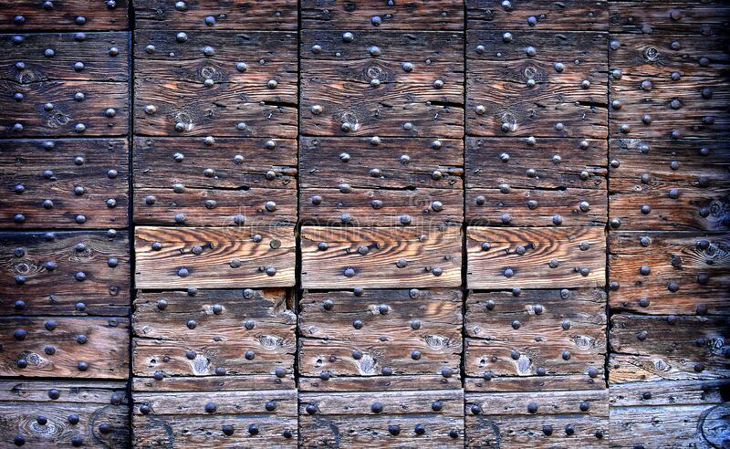 Brown Wooden Surface stock images