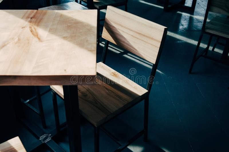 Brown Wooden Table And Chair Free Public Domain Cc0 Image