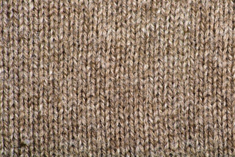Brown Wool Texture Stock Image