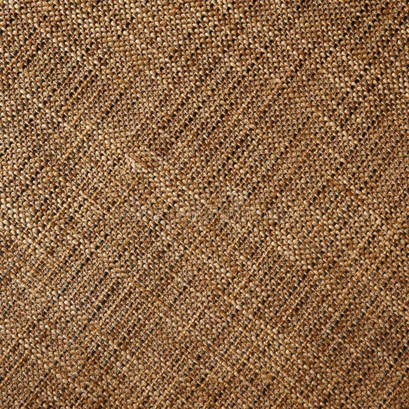 Woven fabric structure , macro. Brown woven fabric structure , macro royalty free stock image