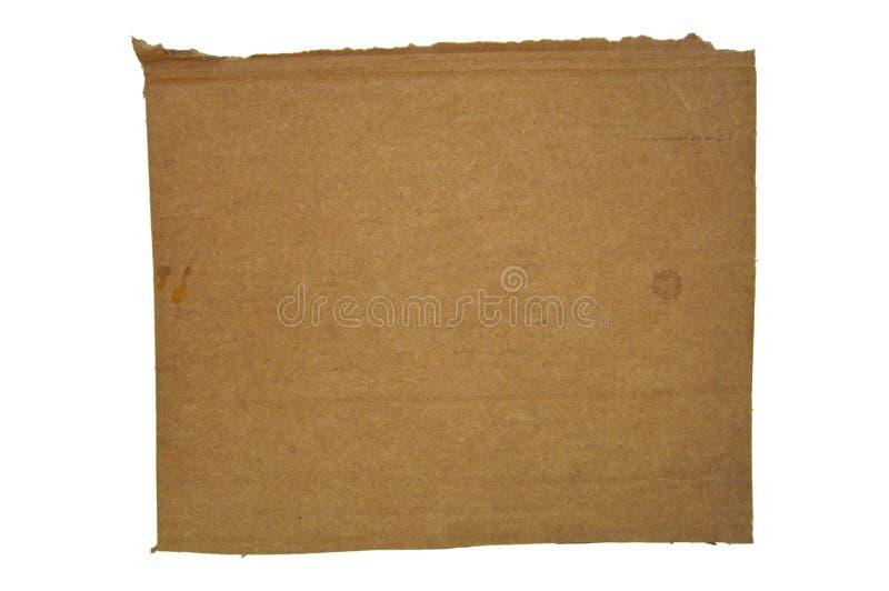 Brown y cartulina acanalada coloreada beige imágenes de archivo libres de regalías