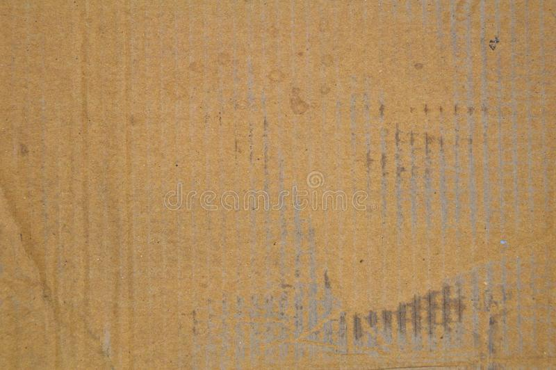 Brown y cartulina sucia acanalada coloreada beige imágenes de archivo libres de regalías