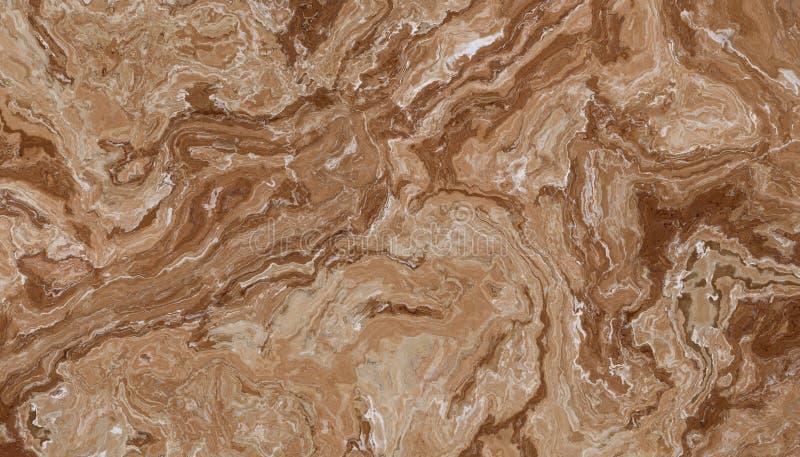 Brown ?y?y marmuru kamie? zdjęcie royalty free