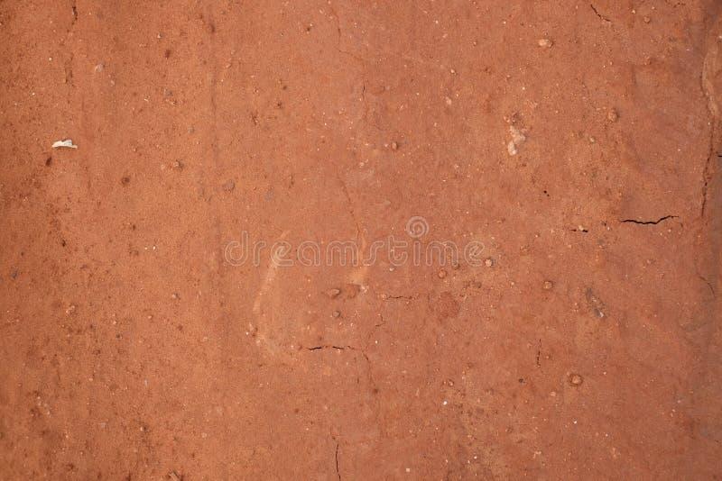 Brown y marrón de tierra seco de la textura imagen de archivo libre de regalías