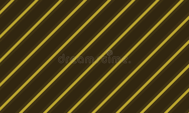 Brown and yellow line design royalty free stock photo