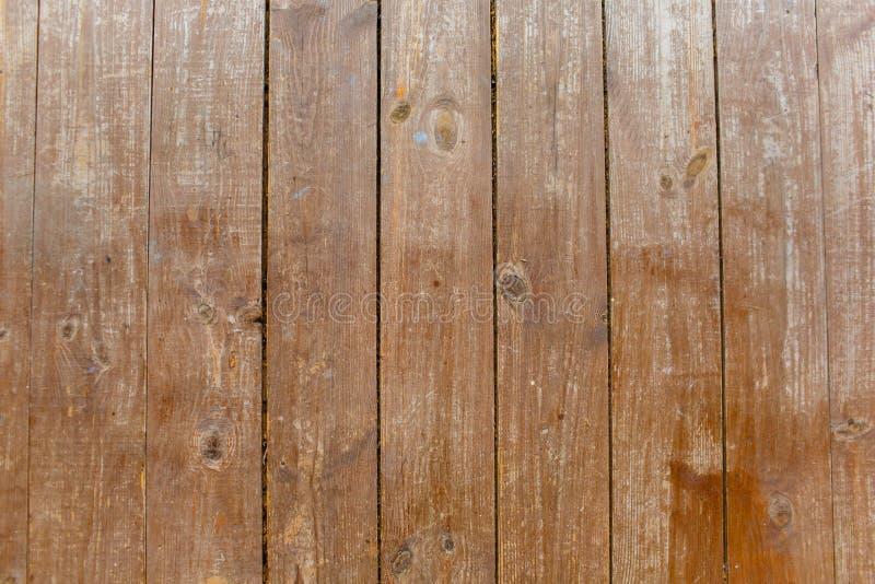 Brown zakończenia mocno drewniany textured nawierzchniowy widok zdjęcie royalty free