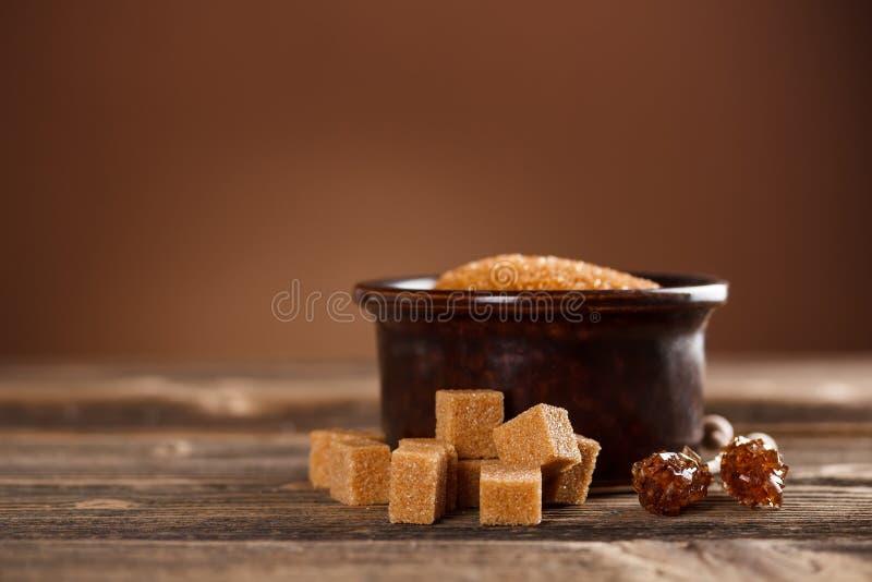 Brown-Zucker lizenzfreies stockbild