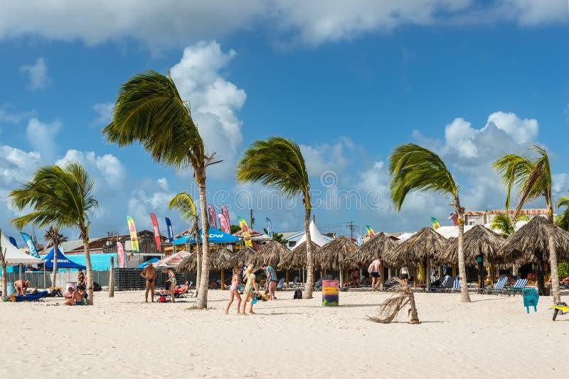 Brownes-Strand in Carlisle-Bucht in Bridgetown, Barbados stockbild