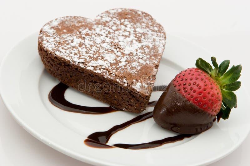 brownie διαμορφωμένη καρδιά φράο&up