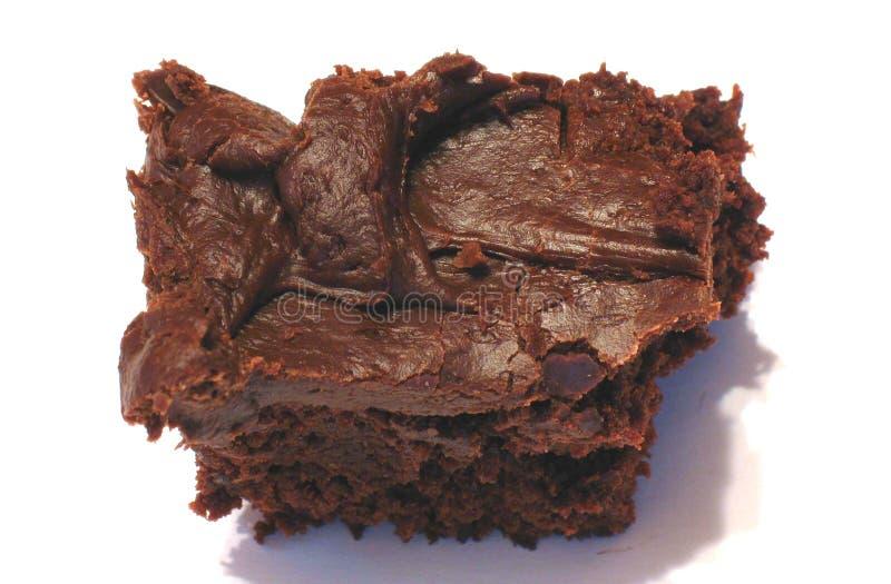 Brownie φοντάν στοκ φωτογραφία με δικαίωμα ελεύθερης χρήσης