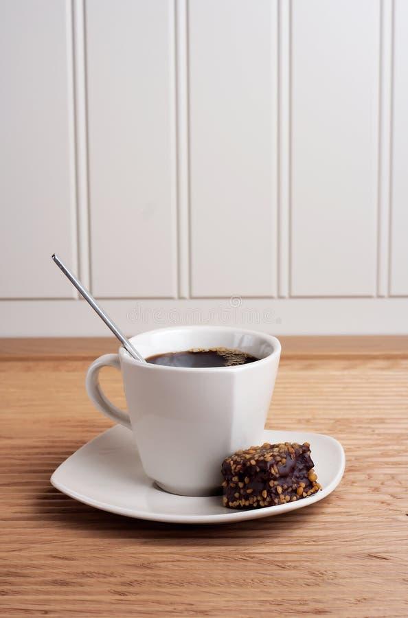 brownie όψη πορτρέτου φλυτζανιών καφέ στοκ εικόνες